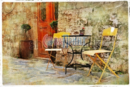 stock-photo-old-pictorial-greek-streets-vintage-artistic-series-122686933