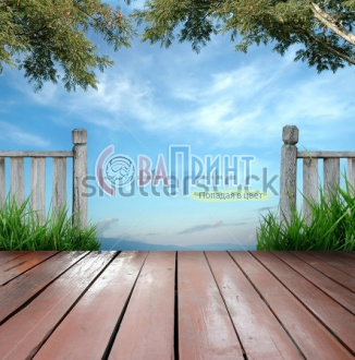 stock-photo-wooden-terrace-and-blue-sky-70173169