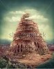 stock-photo-tower-of-babel-as-religion-concept-198402005