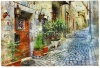 stock-photo-old-charming-mediterranean-streets-artistic-picture-222870079