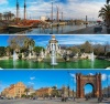 stock-photo-set-of-three-barcelona-attractions-panoramas-163166735
